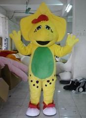 barney BJ dinosaur mascot costume