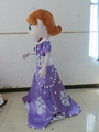 sofia the first mascot costume