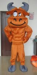 muscle bulls mascot costumes
