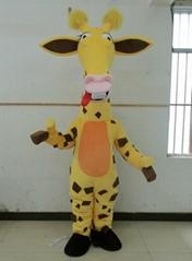 Madagascar giraffe mascot costume