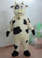 adult milk cow costume