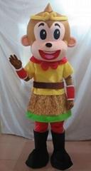 2016 Chinese New Year mascot costume monkey