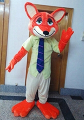 Zootopia fox Nick Wilde mascot costume