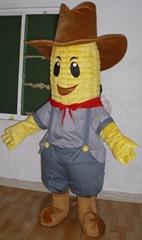 sweet corn mascot costume