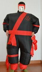 Inflatable ninja Costume