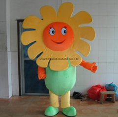 sunflower mascot costume