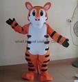 Tiger mascot costume