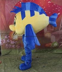 fish mascot costume