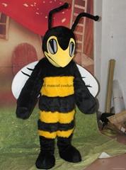 adult hornet bee mascot costume
