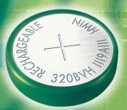 Ni-MH,Ni-Cd Rechargeable Button Cell