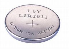 鋰離子紐扣充電電池