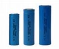 Lithium cylinder battery
