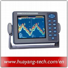 5.6 Inch Color TFT LCD Display Dual Freq Fish Finder