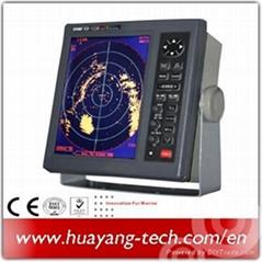 10.4 Inch LCD Display 36nm Marine Radar with AIS