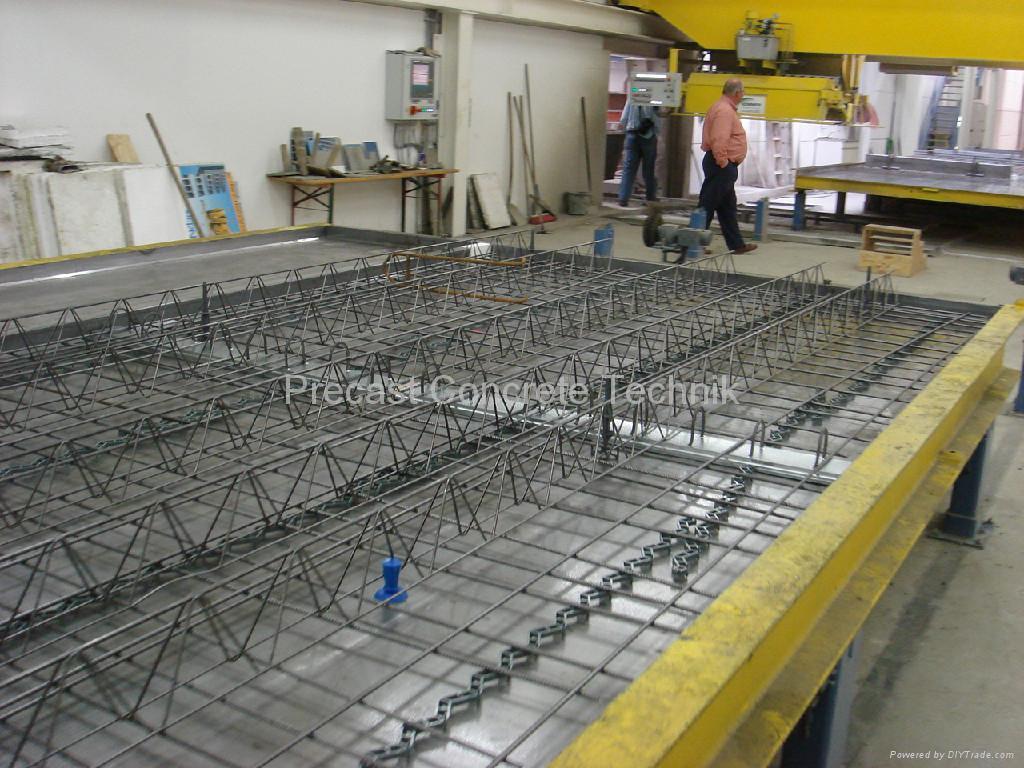 Shuttering For Bridges : Magnetic shuttering system precast u china