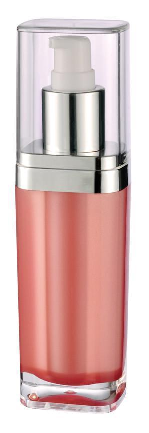 Acrylic plastic bottle , acrylic cream jar , plastic cosmetic container  2