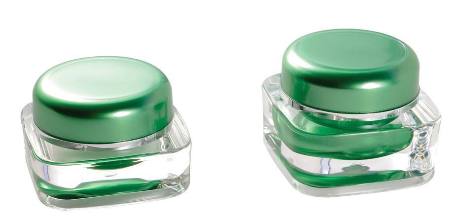 Acrylic plastic bottle , acrylic cream jar , plastic cosmetic container  4