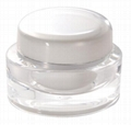 30g oval clear acrylic cosmetic  jar