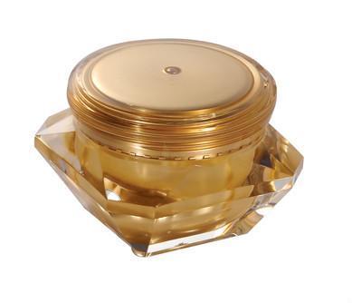 Acrylic 50g diamond cosmetic jar  3