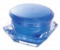 Acrylic 50g diamond cosmetic jar  4