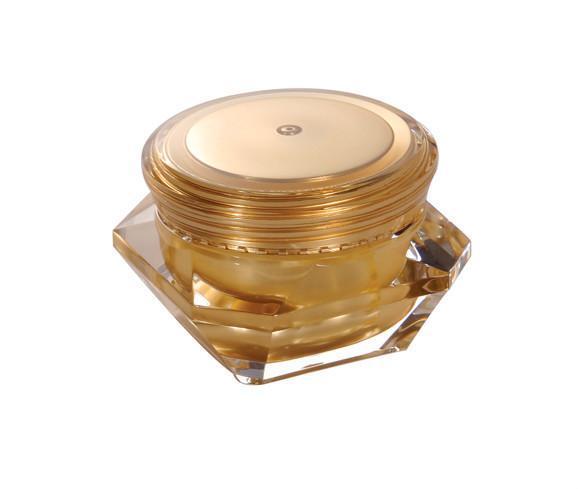 Acrylic 50g diamond cosmetic jar  5