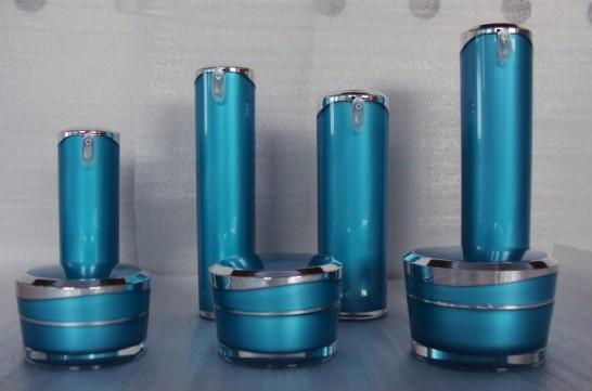 120ml Acrylic moisturizer lotion plastic cosmetic  bottle 1