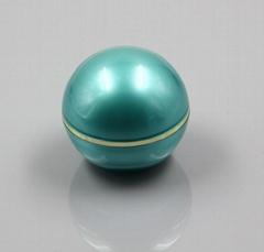 30g luxury  Spherical acrylic cosmetic plastic  jar