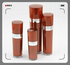 Acrylic  skin care cosmetic bottle from zhejiang manufacturer