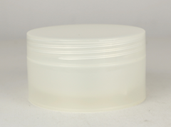150g round single wall cream PP jar