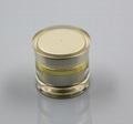 50ml gold acrylic  cosmetics plastic