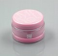 Cosmetic round face mask cream acrylic