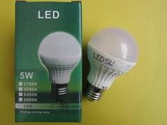 LED塑料球泡灯