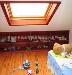 青岛阁楼安装天窗