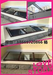 青岛专业电动采光井窗设计施工安