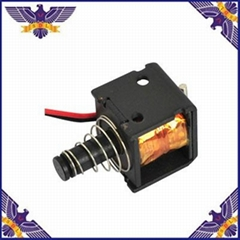 Car and motorcycle headlight dimmer solenoid lens