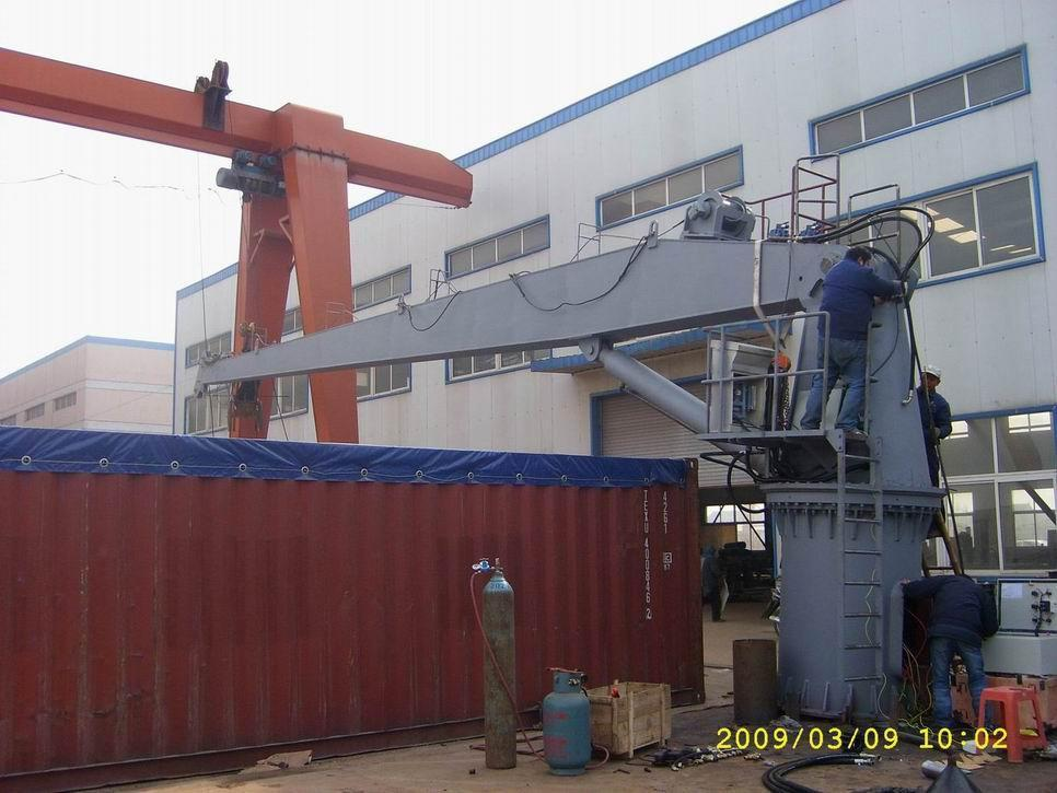 Marine Deck hydraulic Crane 1