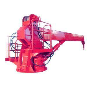 Marine telescopic boom crane 1