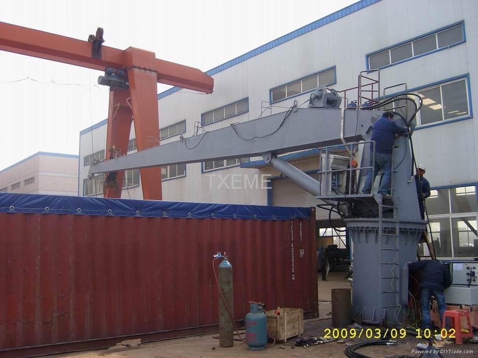 HQ Hydraulic Crane Marine Crane 1