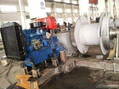 Diesel Engine Driven Winch/Marine Winch