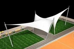 遮陽棚膜結構