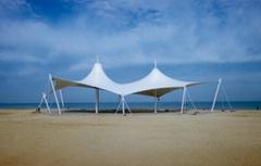 沙灘景觀膜結構設計