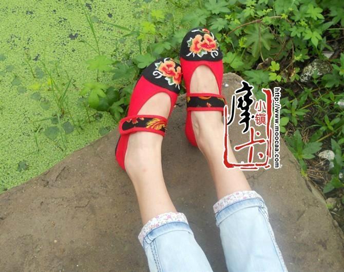 平跟绣花女鞋mst01 1