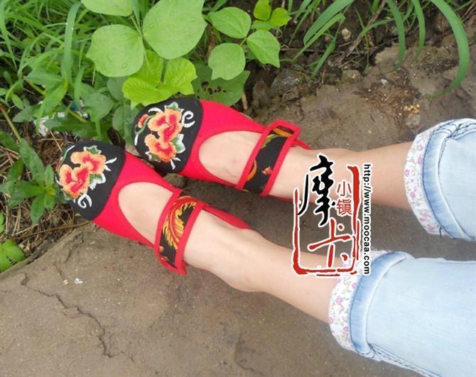 平跟绣花女鞋mst01 2