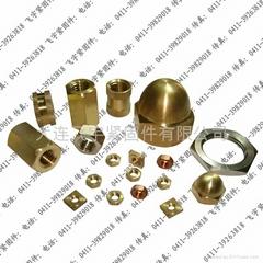 铜盖形螺母