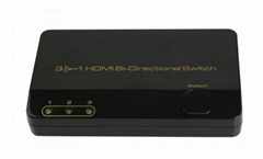 3x1 Bi-Directional Micro Switch Support 3D and 4K