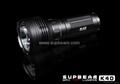Supbeam Magnetic Control flashlight-K40 1147 lumens Cree XML U2 LED