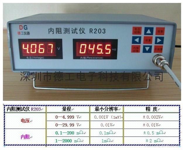 電池內阻測試儀 2
