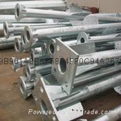 steel pole tower