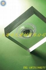 上海松江久富开发区12mm透明PC耐力板