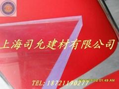 四川重庆成都5mm透明PC耐力板
